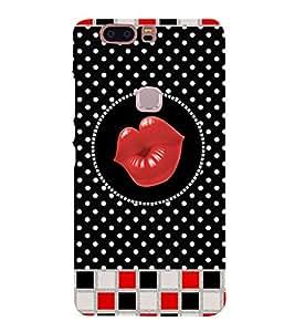 Kisses Clip Art 3D Hard Polycarbonate Designer Back Case Cover for Huawei Honor V8