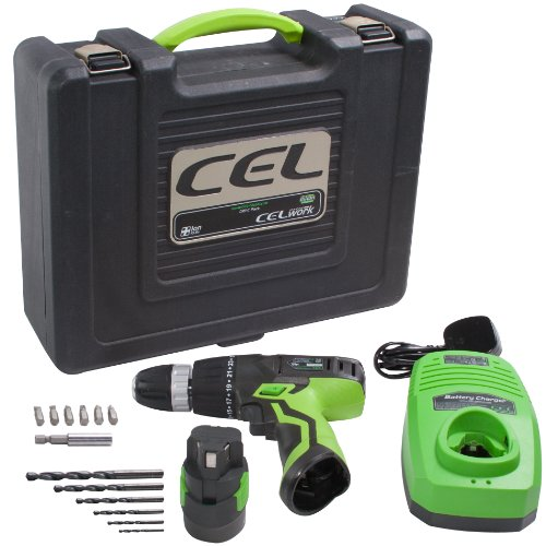 CEL DR1-C Plus Ion Drill Cordless Drill/Driver Pack