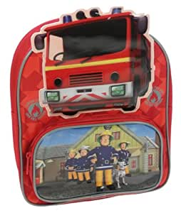 Amazon.com: Fireman Sam Shaped PVC Front Backpack: Sports & Outdoors