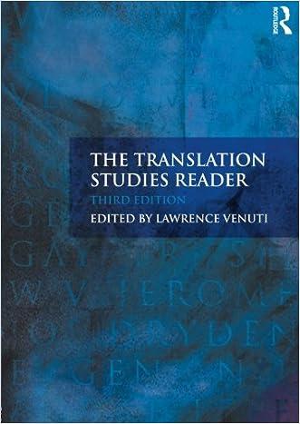 Translation Bundle Nottingham Uni: The Translation Studies Reader