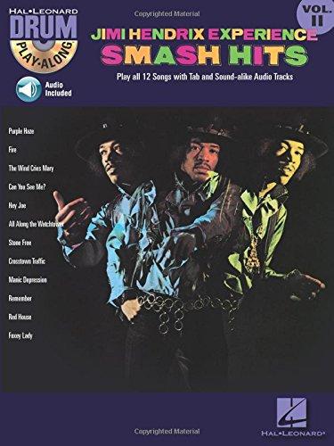 Drum Play-Along: Volume 11: Jimi Hendrix - Smash Hits