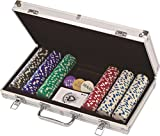 Cardinal 300 11.5 gram Poker Chips in Aluminum Case (styles may vary)