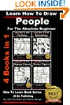 Learn How To Draw People - 4 Books in...