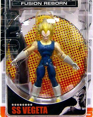 Buy Low Price Jakks Pacific Dragonball Z 'Best of Dragonball Z' Fusion Reborn Action Figure SS Vegeta (B000QHD3S8)