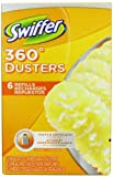 Swiffer 360 Disposable Cleaning Dusters Refills, Unscented, 6-Count (Pack of 2) (Packaging May Vary)