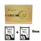 Buy Banjaras Gold Facial Kit Get banjaras black Henna Hibiscus & Alovera Free