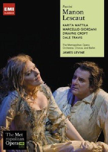 Manon Lescaut (K.Mattila, J.Levine) - Puccini - DVD