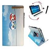 Alcatel One Touch Pixi 3 - Drehbare Tablet PC Schutztasche