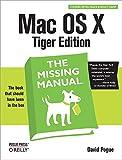 Mac OS X Tiger: Missing Manual