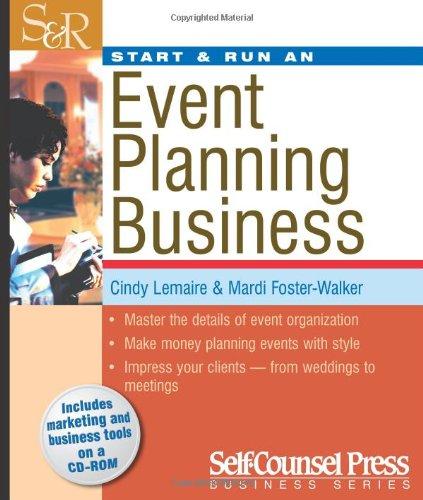 Start & Run An Event-Planning Business