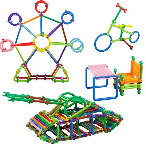 GEEDIAR® DIY Blocs de bâton Puzzle Intelligents jouet (118 pcs)