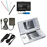 eForCity® 5 pcs Accessory Bundle Charger Compatible With Nintendo DS Lite