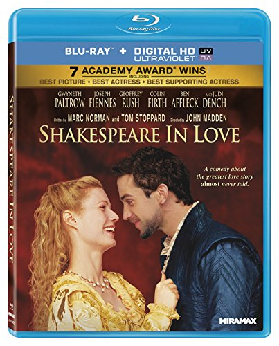 Blu-ray : Shakespeare In Love (Digital Theater System, AC-3, , Widescreen)