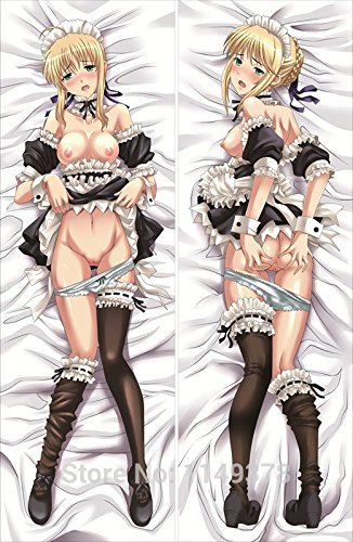 flower-smile-dakimakura-hugging-body-pillow-cases-covers-fate-stay-night-saber-altria-pendragon-sa02