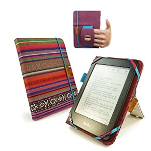 "Tuff-Luv ""Embrace Plus"" Textiltasche für Amazon Touch / Paperwhite mit (Sleep-Funktion) / Sony Kobo - navajo"