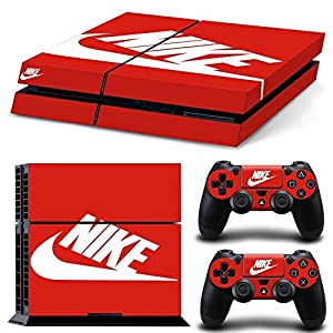 MATTAY NIKE ShoeBox Whole Body Vinyl Skin Sticker Decal Cover for PS4 Playstation 4 System Console and Controllers