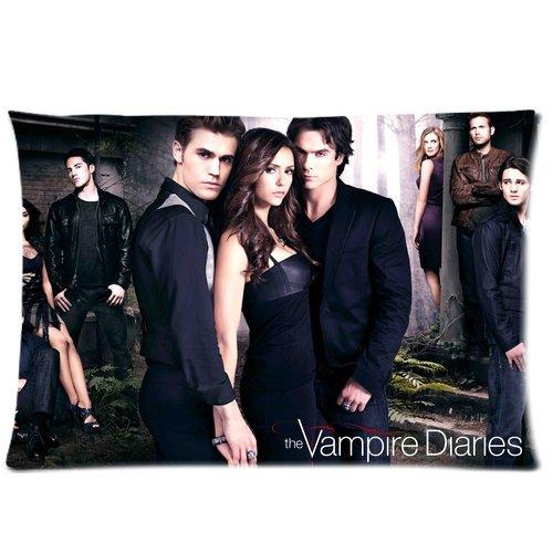 H & H The Vampire Diaries Stagione 1Custom federe con cerniera 20x 30(2lati)