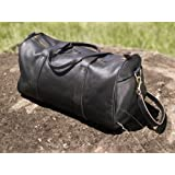 Explorer Leather Travel Bag (dark brown nappa)by Sandstorm Kenya