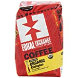 Fair Trade Coffee | Equal Exchange Organic Coffee, Ethiopian, Whole Bean, 12-Ounce Bags (Pack of 3)