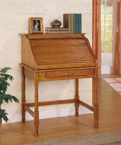 Coaster Roll Top Bedroom Home Office Secretary 