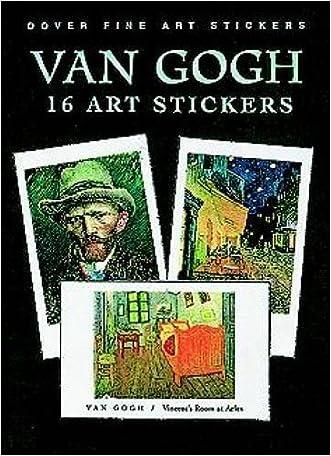 Van Gogh: 16 Art Stickers (Dover Art Stickers)