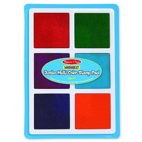 Melissa & Doug Jumbo Multi-Color Stamp Pad - 1
