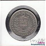 monedas para coleccionistas: Venezuela Schönnr: 54 Emblema del Estado de/Simon Bolívar venezolano muy ya muy ya...