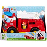 Mega Bloks First Builders Fire Truck Finn