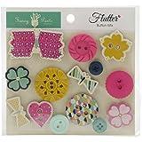 Fancy Pants Designs 2498 Flutter Button Mix