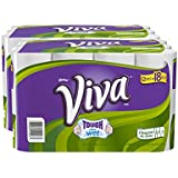 Viva Paper Towels, Choose-a-Size, Giant Roll, 12 Count (Pack of 2)
