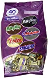 MARS Mixed Miniatures Variety Bag, 40-Ounce Packages (Pack of 2)
