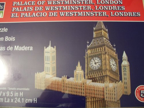 Cheap Fun Art Mind Wooden Puzzle – Palace of Westminster, London (B0050VWY1C)
