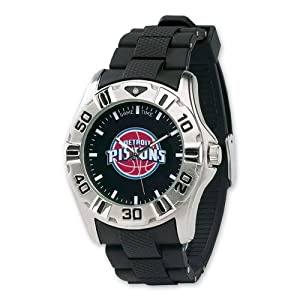 Mens NBA Detroit Pistons MVP Watch by Jewelry Adviser Nba Watches