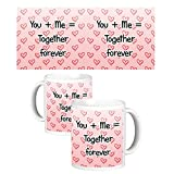 ToduGift You and me together mug
