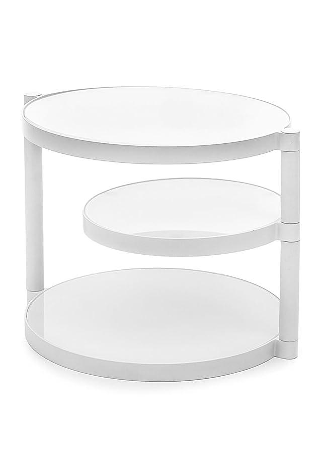 Wink design,Grand Prairie, Tavolino, Bianco Coprente