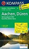 Aachen, Düren, Nationalpark Eifel, Rureifel, Hohes Venn: Wanderkarte mit Kurzführer und Radwegen. GPS-genau. 1:50000
