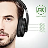 AudioMX-Wireless-Bluetooth-40-Over-Ear-Headphones-Closed-Back-Headset-with-Mic-Low-Latency