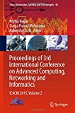 img - for Proceedings of 3rd International Conference on Advanced Computing, Networking and Informatics: ICACNI 2015, Volume 2 (Smart Innovation, Systems and Technologies) book / textbook / text book