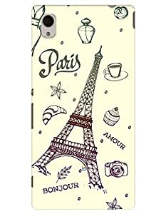 myPhoneMate Eiffel Tower case for Sony Xperia M4