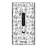 Head Case Designs Flowers and Leaves Doodle Owl Hard Back Case Cover for Nokia Lumia 920