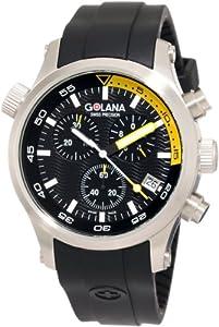 Golana Swiss Men'S Aq300-4 Aqua Pro 300 Stainless Steel Watch