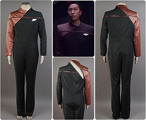Star Trek: Voyager Relativity Starfleet 29th Century Engineering Cosplay Uniform Bronze