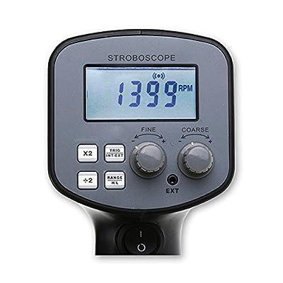 Digital Handheld Stroboscope with 50-12,000 FPM 110V/220V