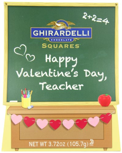 Ghirardelli Valentine's Chocolate Squares, Teacher's