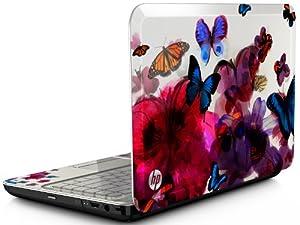 "HP 14"" Butterfly Blossom G4-2149se Designed Laptop Windows 7 Home Premium"