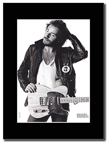 Bruce Springsteen, Born to Run promo rivista con supporto nero