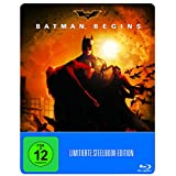 Batman Begins Steelbook - exklusiv bei Amazon.de - Limited Edition