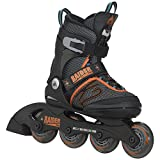 K2 Skate Boy's Raider Pro Inline Skates, Black/Orange,  11-2