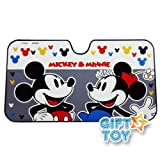 Disney Mickey & Minnie Front Car Windshield Sunshade