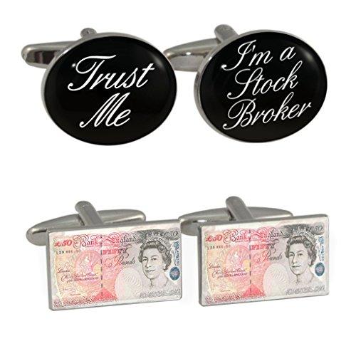 trust-me-im-a-stock-broker-novelty-50-cufflinks-gemelli-cofanetto-in-custodia-in-pelle